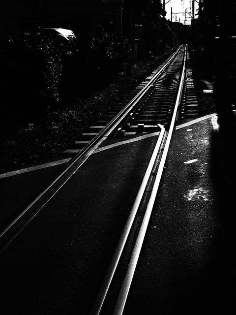 walking around Kamakura 2016.12.25 (52) with Art Effect - Rough Monochrome