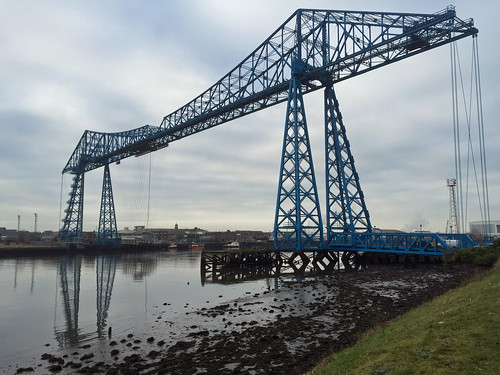Tees Transporter Bridge | by diamond geezer