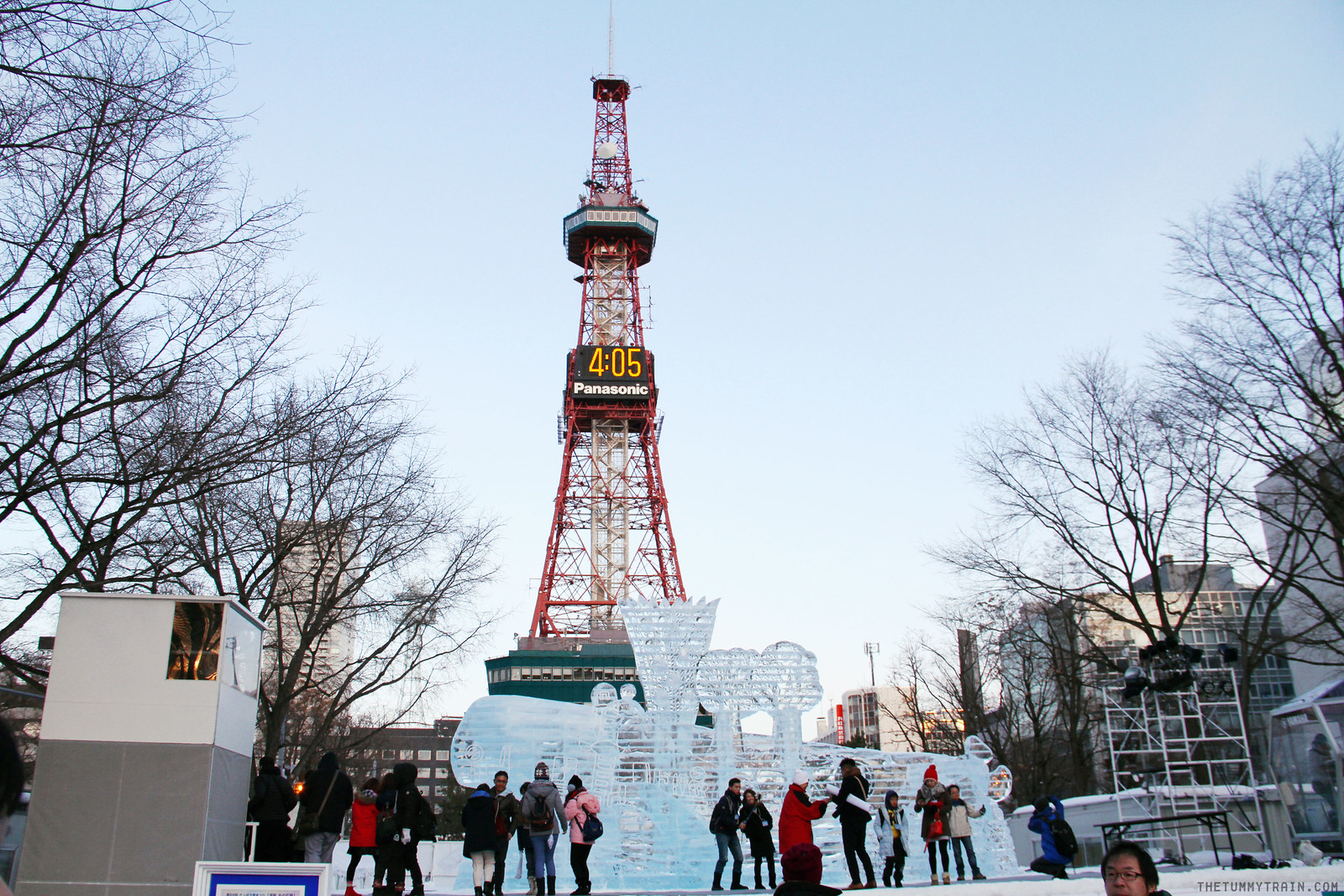 33011848295 6af5b29d6e h - Sights, Sounds, and Smells at the 68th Sapporo Snow Festival at Odori Park