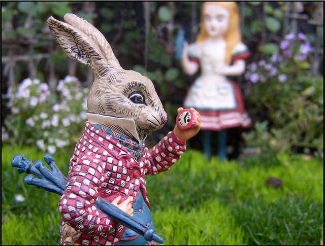 Alice In Wonderland Miniature Garden Print Now Available A Flickr