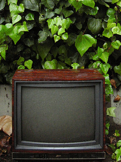 television in the rain | by striatic