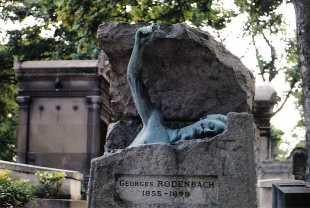 Georges rodenbach cimeti re du p re lachaise paris fran - Cimetiere pere la chaise ...