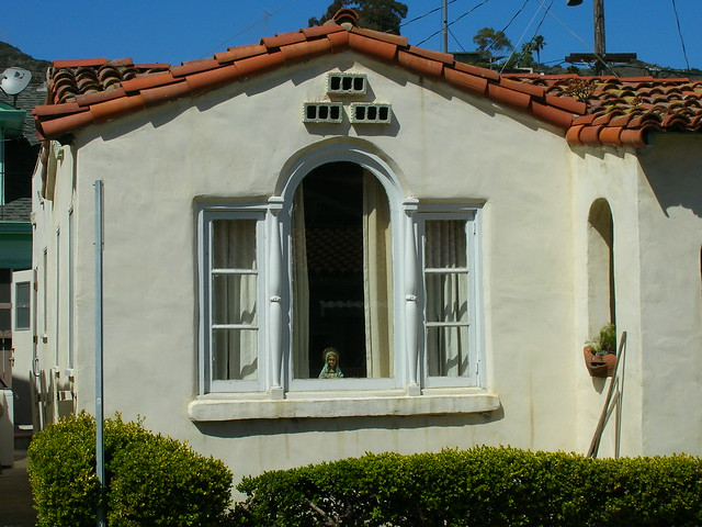 Bird houses over arched window avalon flickr photo - Houses with arched windows ...