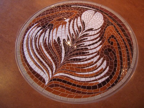 latte art mosaic at Vivace | by tonx