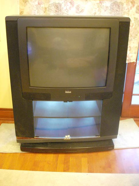 Ewasted Dead 35 Quot Progressive Scan Console Tv Rca