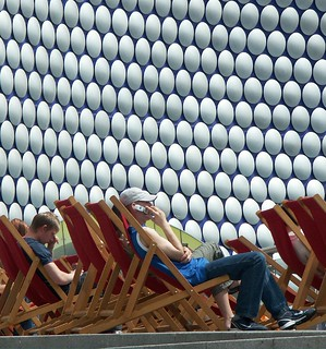 Deckchairs at Selfridges | by Mark E