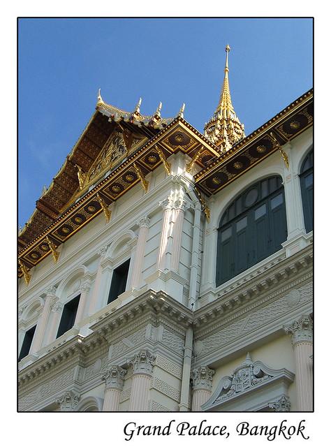 พระบรมมหาราชวัง ๒  Great Chakri Palace Bangkok March 2006 ...