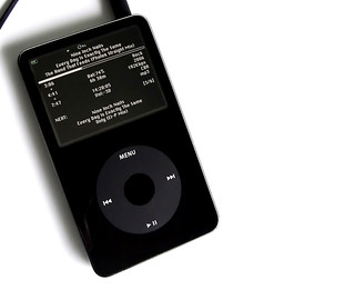 Rockbox on a Black 5G iPod | by Andrew Mason
