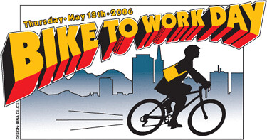 Bay Area Bike To Work Day artwork | by Richard Masoner / Cyclelicious