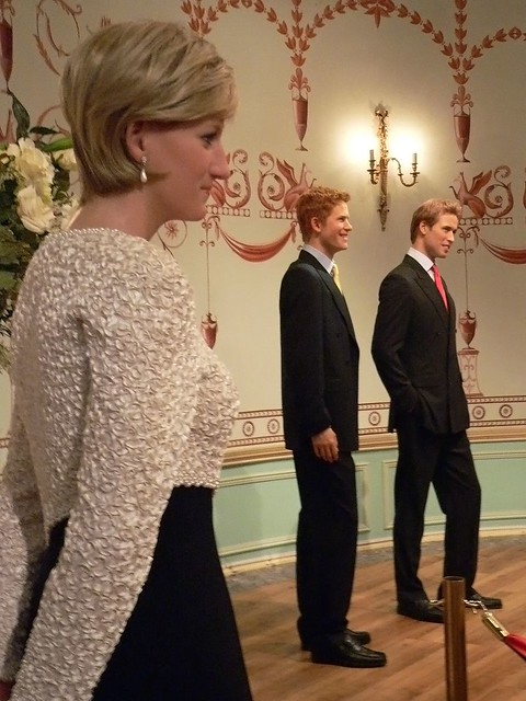 A Proud Mother Watches From Afar As Prince William And Pri