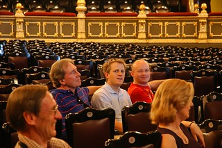 Dad Will and Monty in the Teatro Nacional | by Stuck in Customs