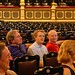 Dad Will and Monty in the Teatro Nacional