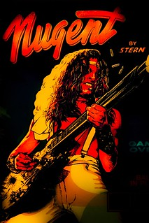 Ted Nugent Pinball Machine | by Thomas Hawk