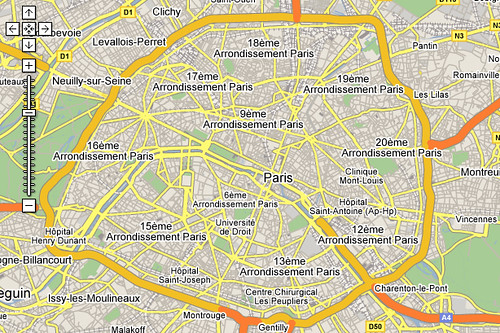 google maps does paris   This is sweet. Today Google maps ro…   Flickr