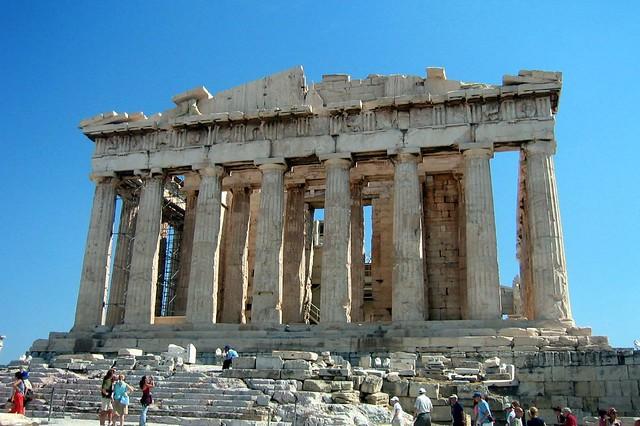 Athens Acropolis Parthenon West Side The Parthenon a Flickr