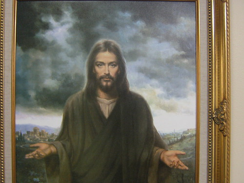 Jesus on the wall of the senior Home | by freestone