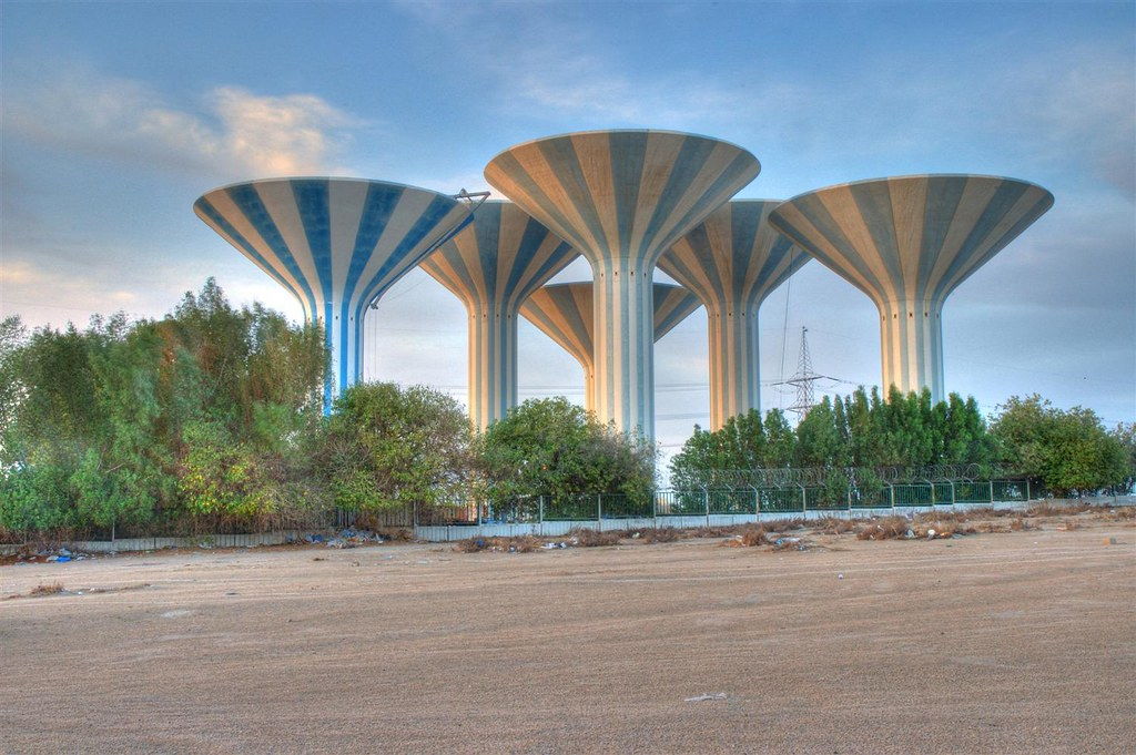 Water Towers | Unique landmarks in Kuwait. These clusters ... All Sizes Water Towers Kuwait Photos