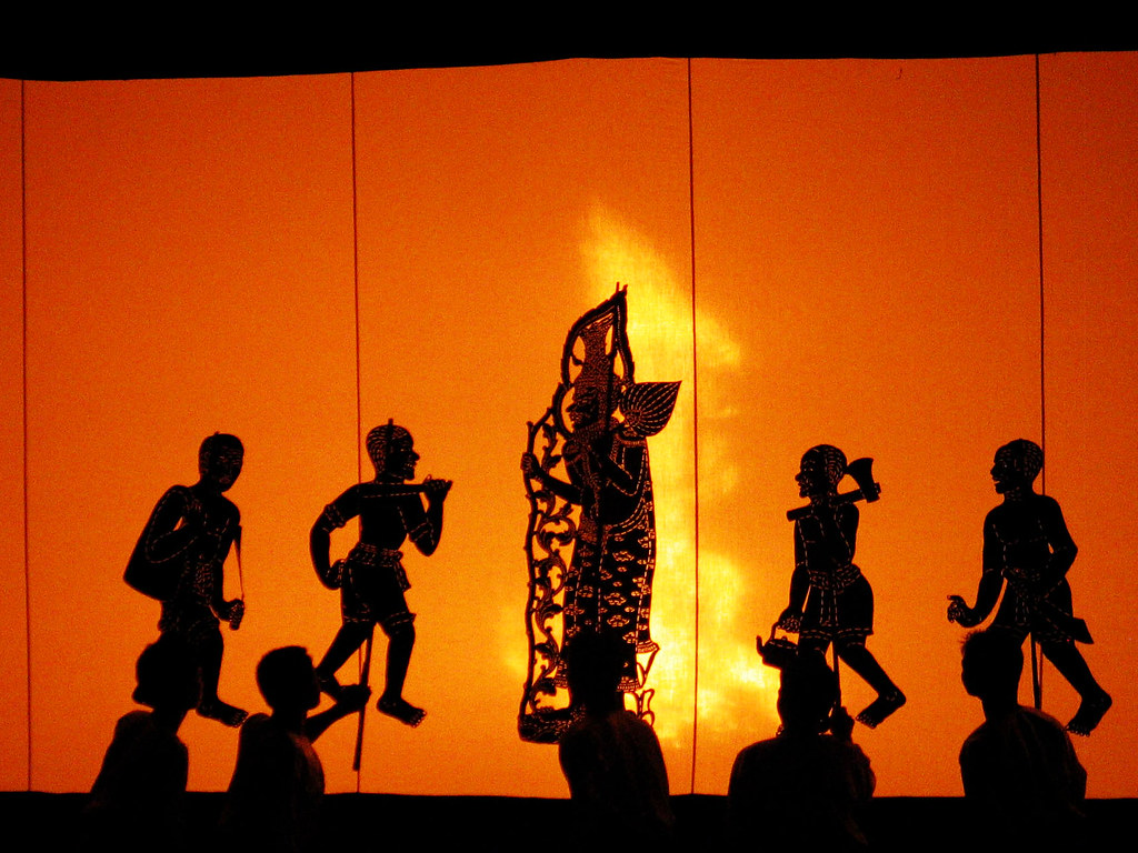 Shadow Play Cambodia Southeast Asia Hn Flickr