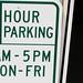 3 hour parking