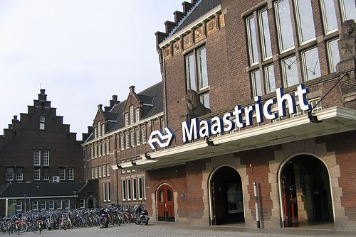 maastricht station and after an uneventful 25hour