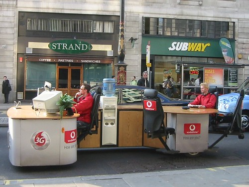 Vodafone Desk Car | by Litost.