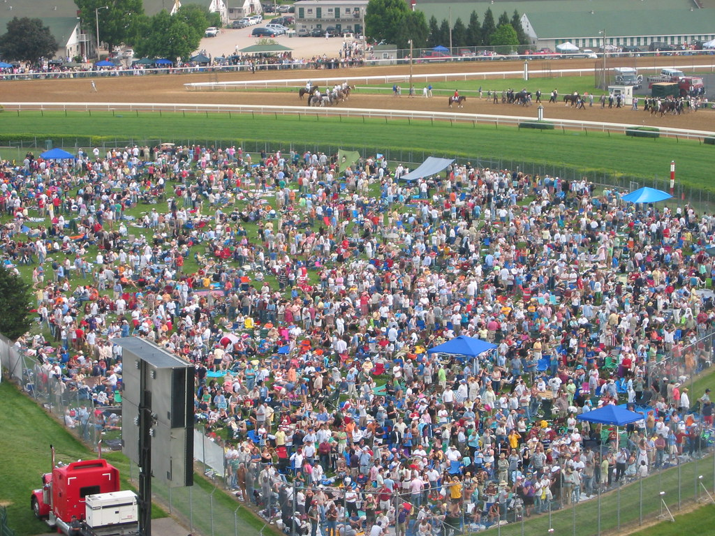 Ky Derby Infield Mchart Flickr