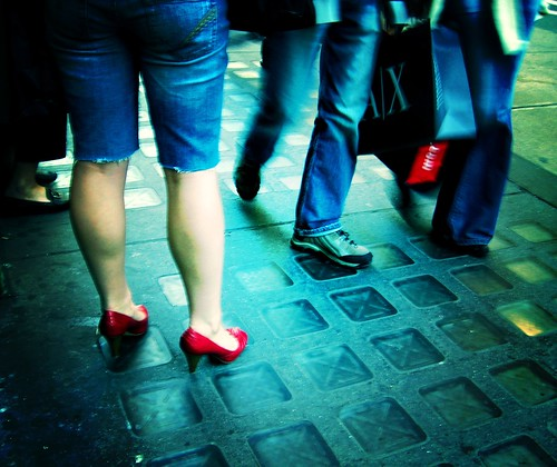 Red Shoes & Walking Bags | by moriza