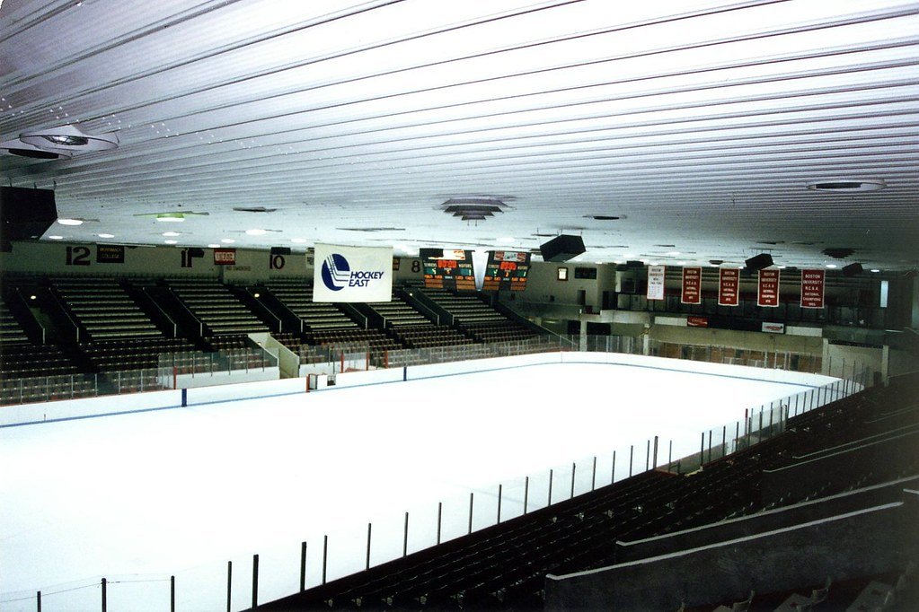 Boston University Walter Brown Arena With A Capacity Of