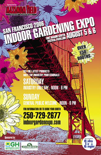 San francisco indoor gardening expo poster dont forget to flickr san francisco indoor gardening expo poster by jakob rehlinger workwithnaturefo