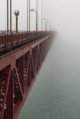 Golden Gate Bridge in Fog | by davidwfx
