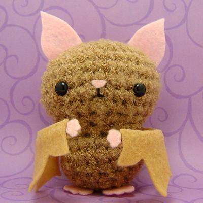 Make Amigurumi Bat Crochet : Amigurumi Baby Bat Here for your viewing pleasure is a ...
