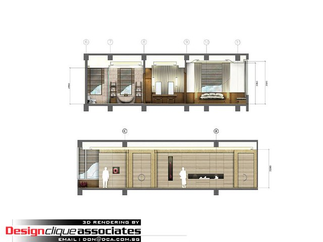3d Exhibition Designer Jobs In Singapore : D rajdamri elevation rendering designer hirsch