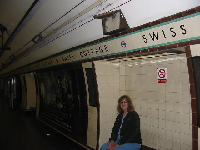 Swiss Cottage Tube Station London Underground Jasperdo