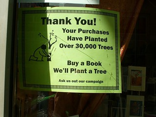Buy a book, plant a tree | by Steve Rhodes