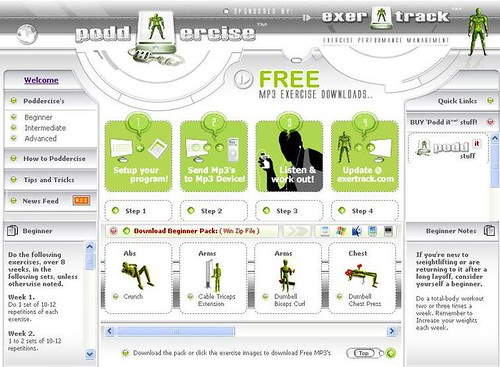Exertrack Workout Instruction Podcasts screenshot.JPG | by exertrack