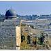 Al Aqsa Mosque & the Mount of Olives, Jerusalem, Israel