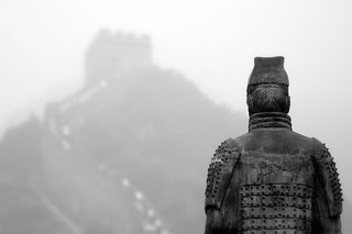 In front of the Chinese Wall | by pazavi