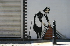 banksy : Hoxton Square | by invisiblemadevisible
