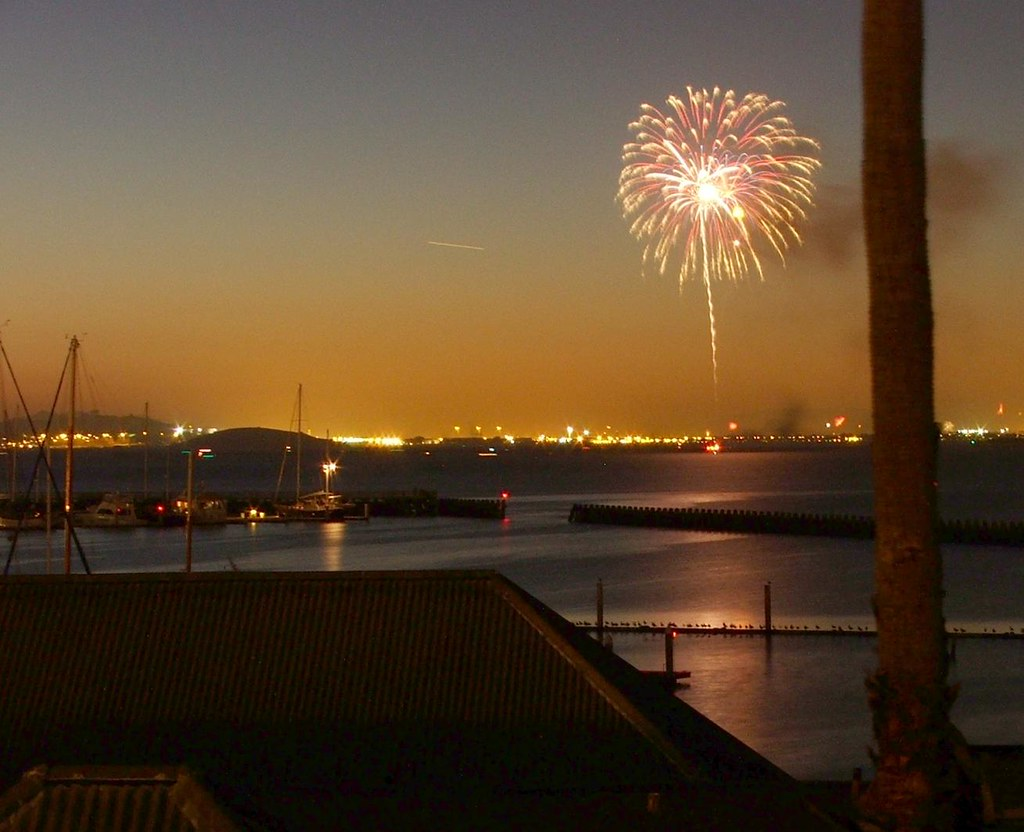 Image result for Emeryville Marina fireworks