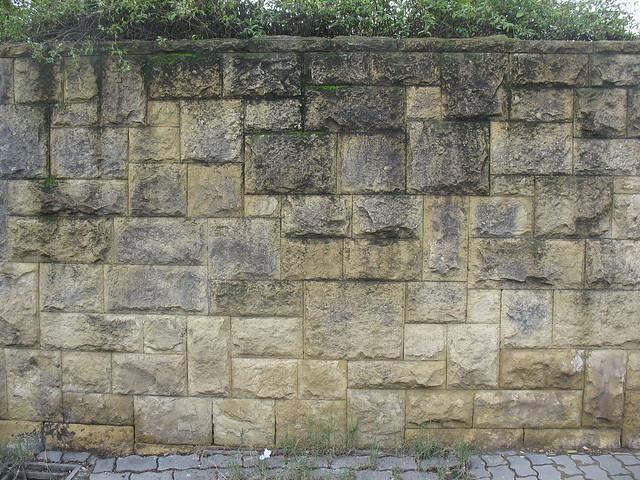 Pared de ladrillos piedra flickr photo sharing - Ladrillos de piedra ...