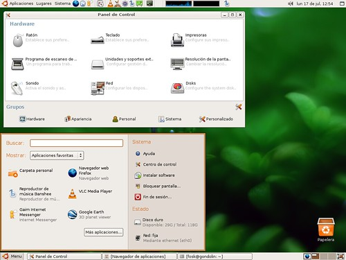 gnome-main-menu in Ubuntu | by .fosk.
