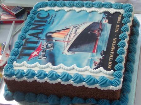 Titanic Cake Jay Ell Flickr