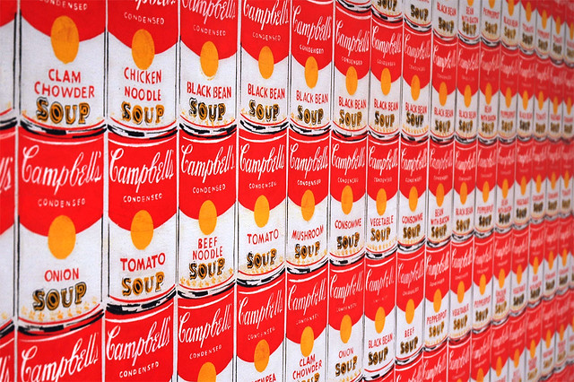 Soup Is Good Food One Of The Andy Warhol Paintings Display Flickr