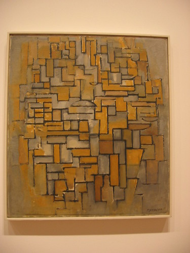 Mondrian's Composition in Brown and Gray | by hoogstra