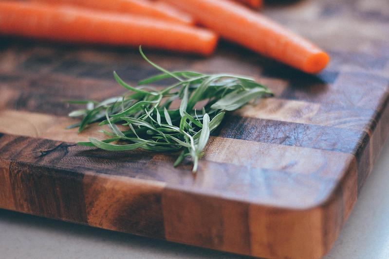 carrots + tarragon