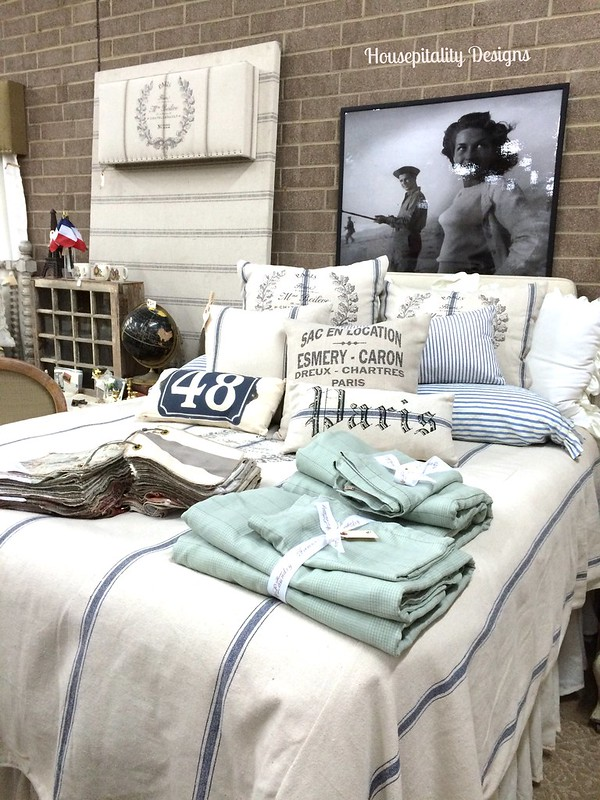 French Laundry Home Grain Sack Bedding-Housepitality Designs