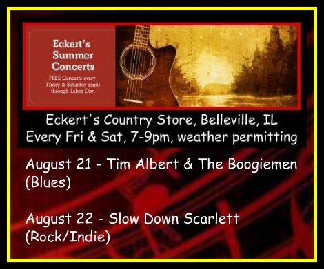 Eckert's Summer Concerts 8-21, 8-22-15