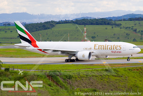 Boeing 777-200F Emirates SkyCargo A6-EFI