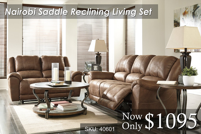 Nairobi Saddle Reclining Set