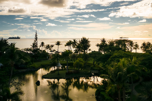 Saipan Hyatt Sunset